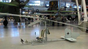 Focke-Achgelis FA-330 Bachstelze der auf U-Booten zum Einsatz kam