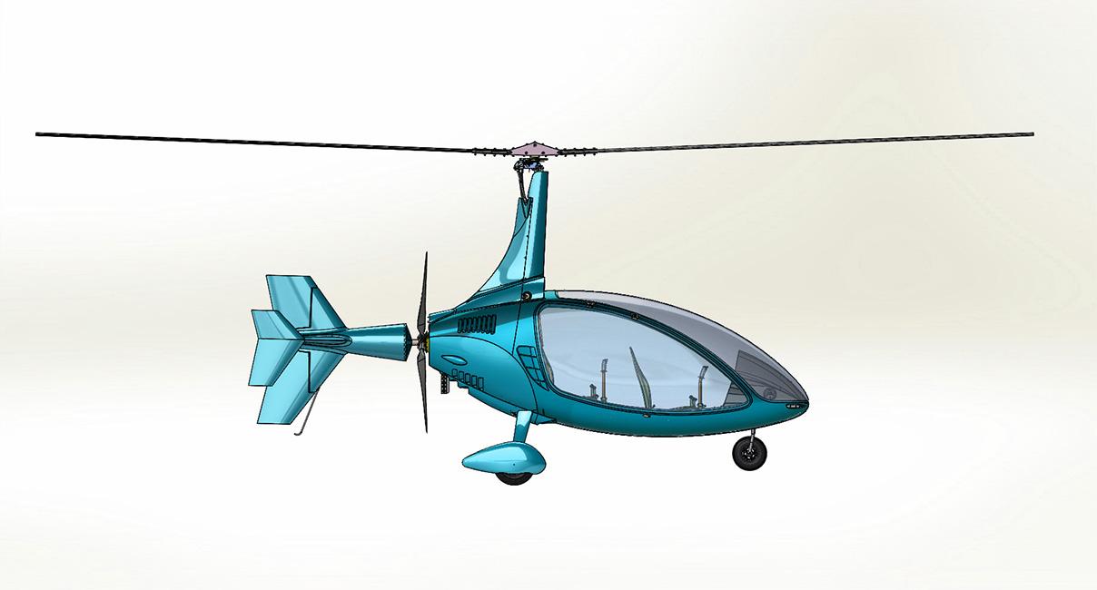 Gyrocopter Lightning